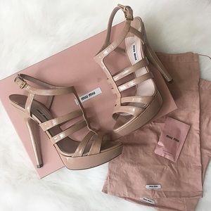 Miu Miu Calzature Donna Heels, Size 37.5